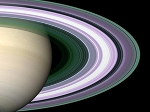 Saturn from Cassini 300pxl