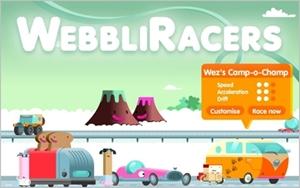 WebbliRacers 300pxl